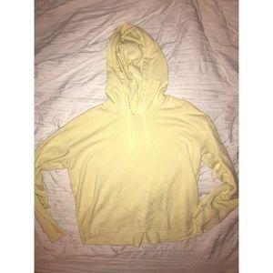 Pale yellow AE hoodie💛🔐